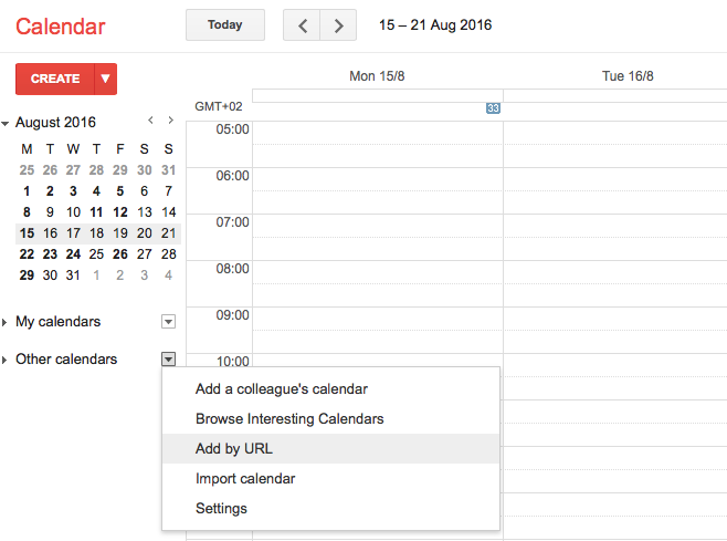 Connect EasyPractice to Google Calendar
