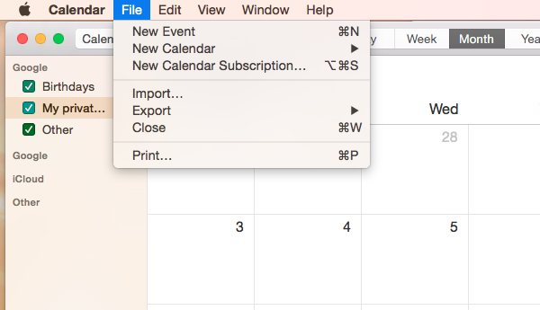 Connect EasyPractice to iCal